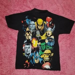 Marvel Characters Shirt